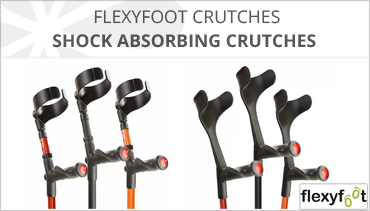 FLEXYFOOT CRUTCHES
